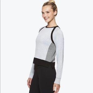 Gaiam Houston Crop Sweatshirt